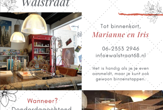 Welcome women at Walstraat